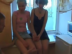 Young Julia & Milena fucked beyond..