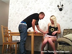 Blondie doll gets banged
