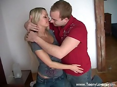 Slutty blondie elfin gets pounded
