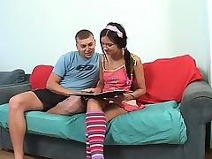Undevious awaiting teen turns earn..