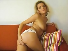 Czech blonde curly haired explicit..