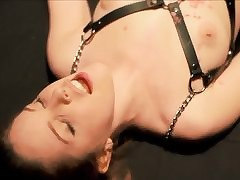 HD interracial hard BDSM intercourse w..