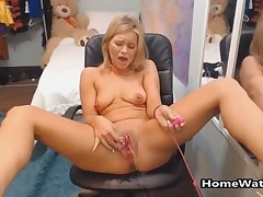 Insatiable Mother Squirting All Over..